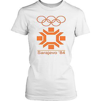 Sarejevo 84 Vinter OL damer T skjorte