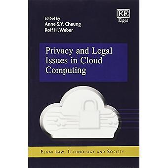 Prywatności i prawne problemy w Cloud Computing przez Anne S. Y. Cheung - Ro