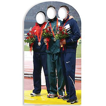 Olympic Medalist Stand-in Lifesize Cardboard Cutout / Standee / Standup