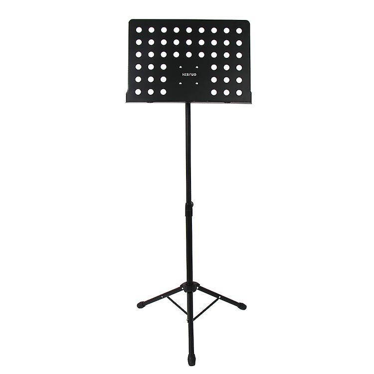 WorldOfMusic orkestrale fuldt justerbare professionel musikholderen ark indehaveren - stativ Base høj kvalitet Metal - velegnet til hjemmestudie Gig ydeevne - messing træblæser strenge slagtøjsinstrumenter