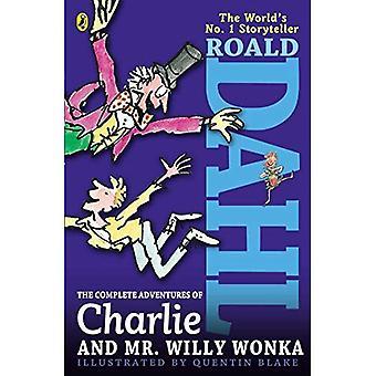 Las aventuras completas de Charlie y el Sr. Willy Wonka