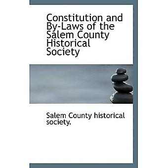 Constitution and By-Laws of the Salem County Historical Society