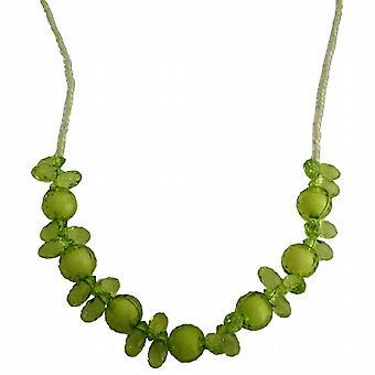 الأخضر يتوهم الخرز قلادة مثالية لعيد ميلاد أو هدية العودة