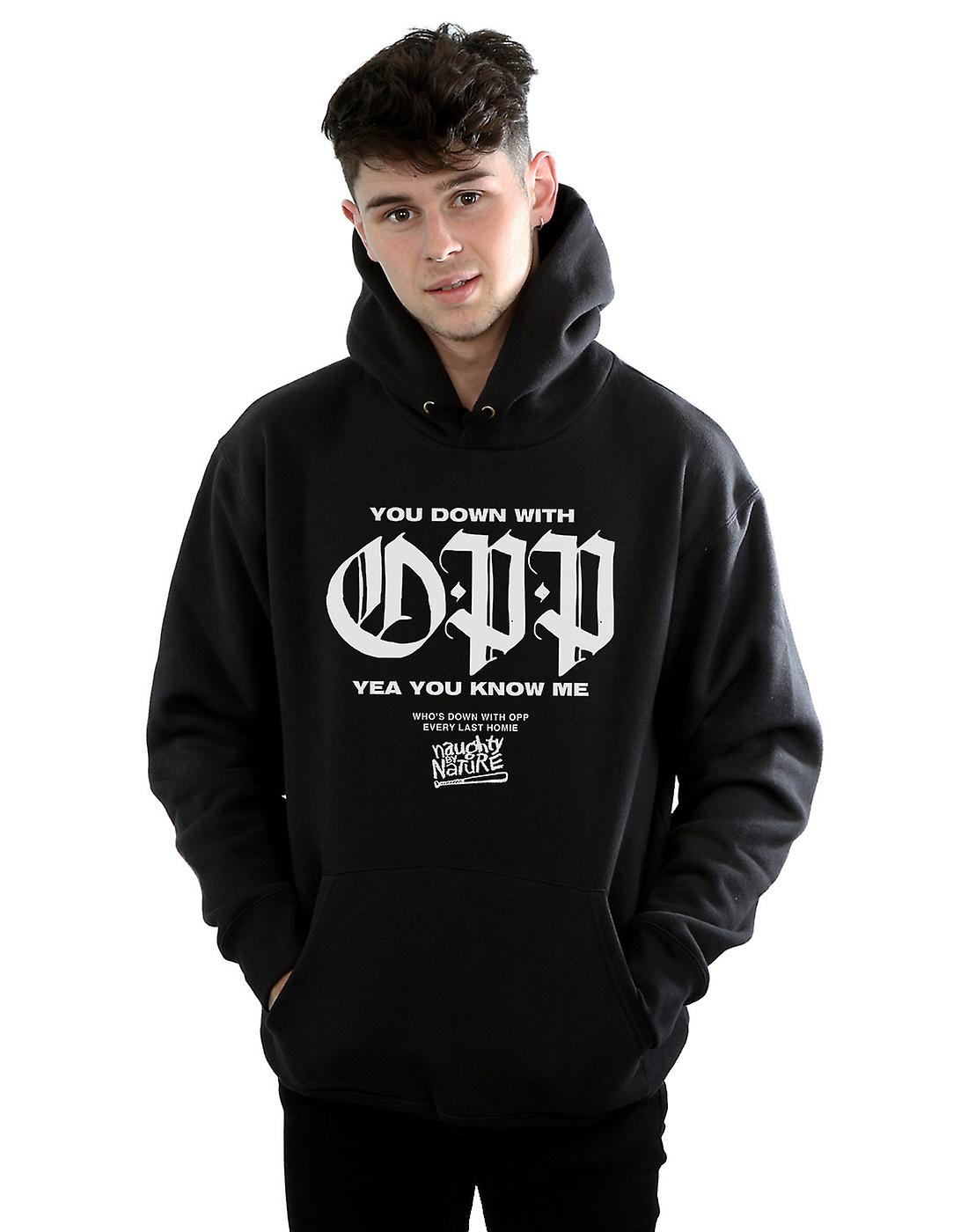 Naughty By Nature Men's You Down With Hoodie