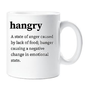 Hangry definicji kubek