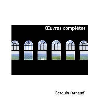 Auvres complAutes store Print Edition av Arnaud & Berquin