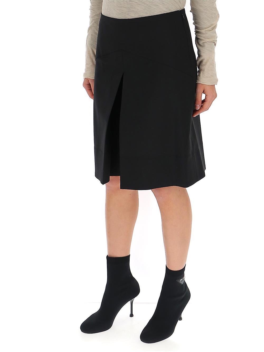Givenchy Bw50c011f7001 Jupe en soie noire UemUm6