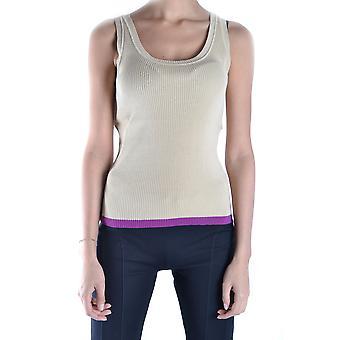 Love Moschino Ezbc061021 Women's Beige Cotton Top