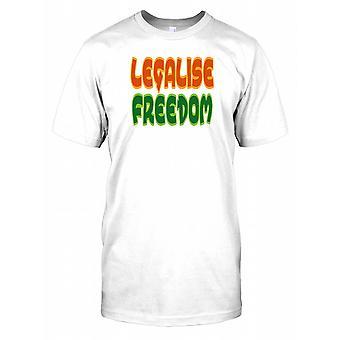 Zalegalizowała wolności - spisek męskie T Shirt