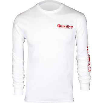 Quiksilver Mens Twin Fin Mates LS Shirt - White