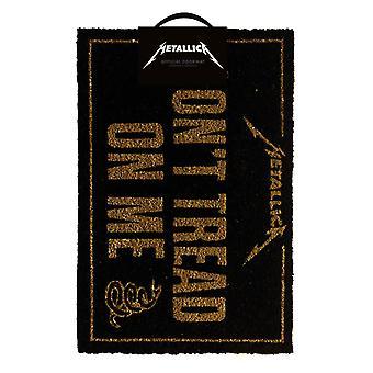 Metallica Don't Tread On Me Doormat