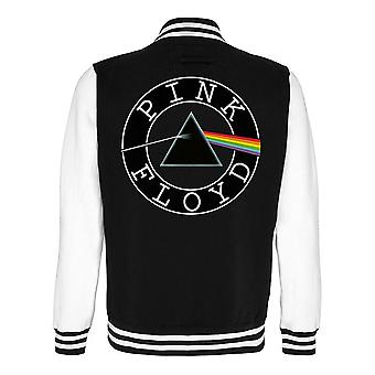 Pink Floyd Dark Side of the Moon Logo Varsity Jacket