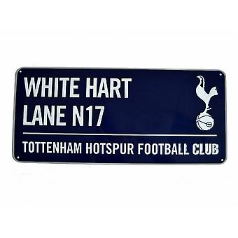 Tottenham Hotspur FC Official Football Metal Street Coloured Sign