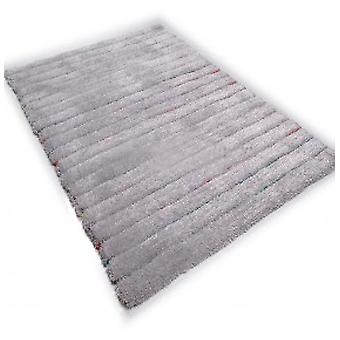 Teppiche-Tom Tailor-Soft Shaggy - versteckte Streifen grau