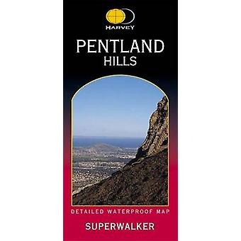 Pentland Hills XT25 (3rd Revised edition) by Harvey Map Services Ltd.