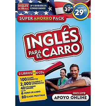 Ingles Para El Carro - Audiopack (2 Paperback Books + 6cds) / English