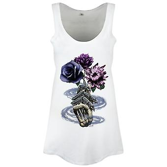 Requiem Collective Ladies/Womens Death's Bouquet Floaty Tank