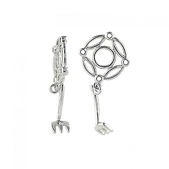 Storywheels Silver Garden Rake Dangle Charm S287