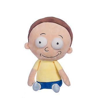 """12 """"Rick og Morty smilende Morty blød plys legetøj"""