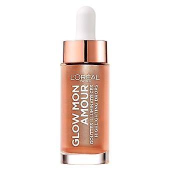 Loreal Glow Mon Amour Highlighting Drops - 02 Loving Peach
