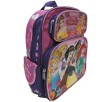 Маленький рюкзак - Принцесса Диснея - Все принцесса Розовый 12'quot; Новый 000789