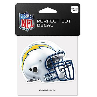 Wincraft Helm Aufkleber 10x10cm - NFL Los Angeles Chargers