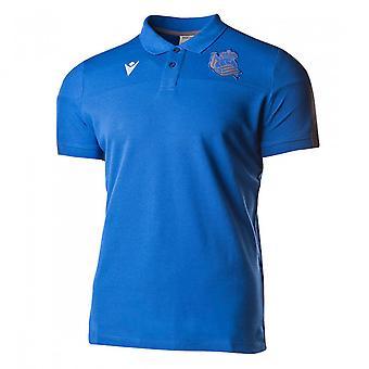 2019-2020 Real Sociedad Travel Polo Shirt (blå)