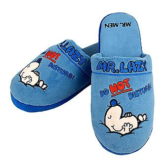 Mr. Men Mr. Lazy Mule Slippers