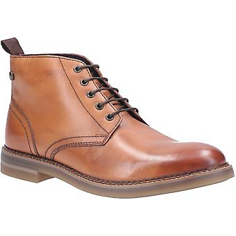 Base Londra Mens Raynor Burnished Pizzo Up Boot Tan