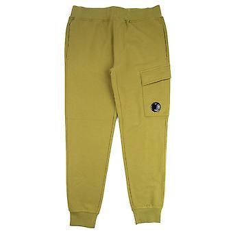 CP firma diagonal hævet fleece linse sved bukser mos grøn 639