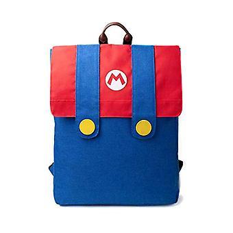 DIFUZED Sac dos Mario Zainetto for children - 42 cm - Multicolor (Bleu Et Rouge)