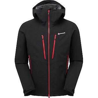 Montane Dyno XT jas-zwart/Alpine rood
