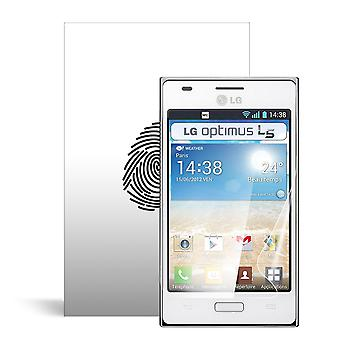 Celicious Vivid plus milde Anti-Glare Screen Protector film compatibel met LG Optimus L5 E610 [Pack van 2]