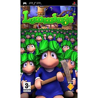 Lemmings (PSP)-in de fabriek verzegeld