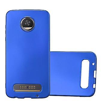 Cadorabo Hülle für Motorola MOTO Z2 PLAY Case Cover - Handyhülle aus flexiblem TPU Silikon – Silikonhülle Schutzhülle Ultra Slim Soft Back Cover Case Bumper
