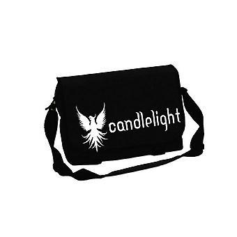 Candle Light Phoenix Oficial Nueva Bolsa de Mensajero Negro