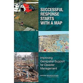 La respuesta exitosa comienza con un mapa: Mejorar el soporte geoespacial para la gestión de desastres