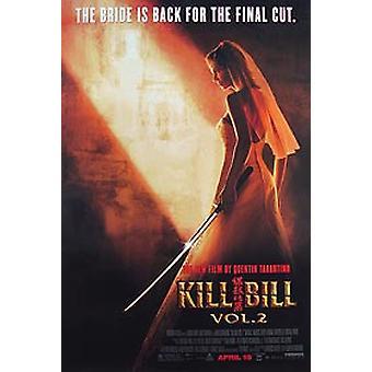 Tappaa Bill Vol. 2 (yksipuolinen Regular) alkuperäinen elokuva julisteet
