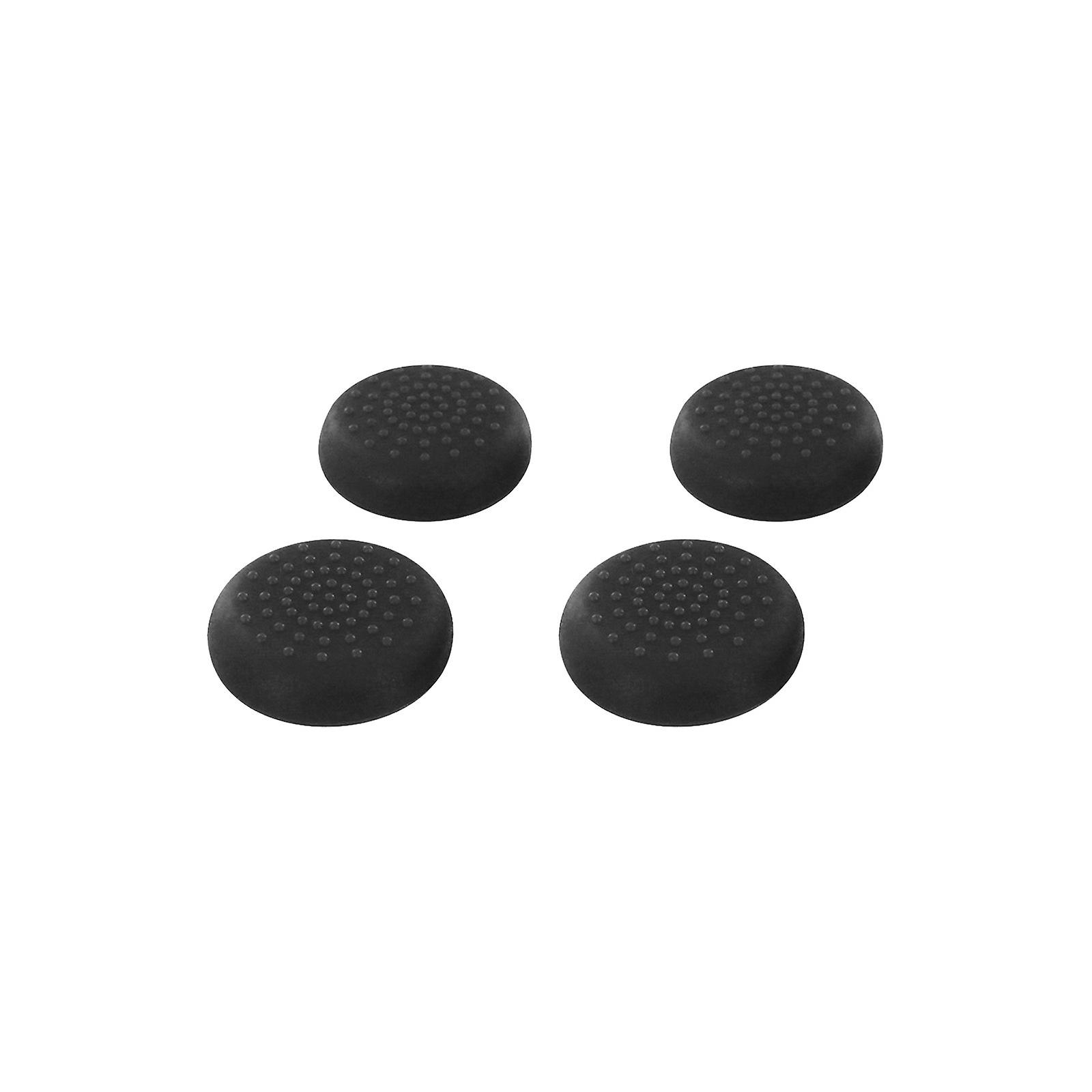 Tpu thumb grip stick caps for nintendo switch pro controller - 4 pack black