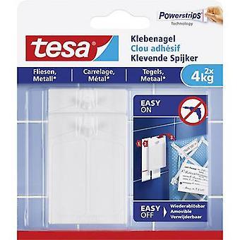tesa 77766-00000-00 Tesa ® Klæbende søm Hvidt indhold: 2 pc (er)