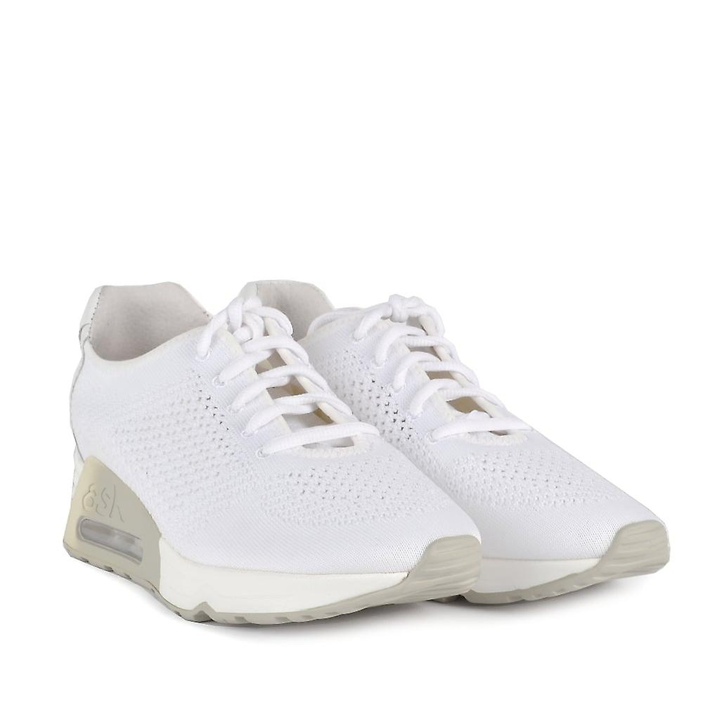 Ash LUCKY Trainers White Knit