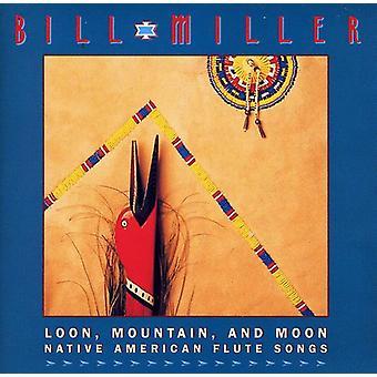 Bill Miller - Loon Mountain & Moon-Native Am [CD] USA import