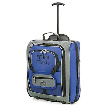 Minimax (45x35x20cm) childrens luggage carry on suitcase with backpack and pouch