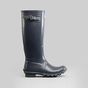 Barbour Bede Ladies Tall Wellington Boots Navy