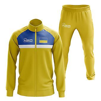 Ukraine Concept Fußball Trainingsanzug (Gelb)