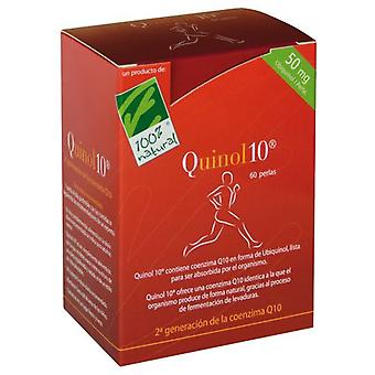 100% Natural Quinol 10 Ubiquinol 60 Caps