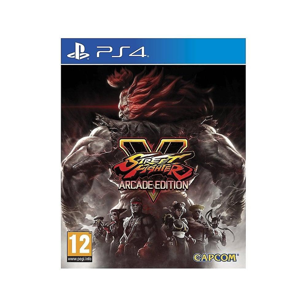 Street Fighter V Arcade Editon PS4