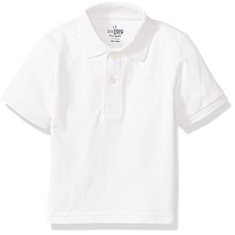 The Childrenăs Place Baby Boysă Toddler Short Sleeve Uniform Polo, Alb 0049...