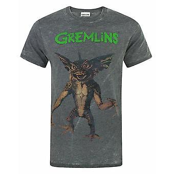Gremlins Spike Men's Burnout T-Shirt