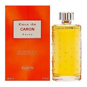 Eaux de caron forte by caron 6.7 oz eau de toilette bottle with atomizer pump